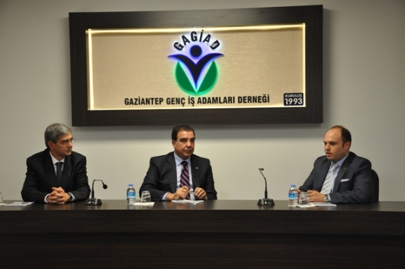 CHP GENEL BAŞKAN YARDIMCISINDAN GAGİAD'A ZİYARET