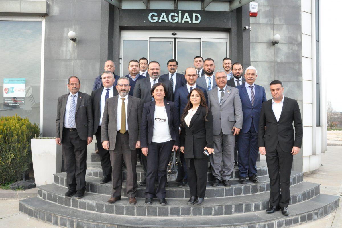 CUMHURİYET HALK PARTİSİNDEN GAGİAD'A ZİYARET