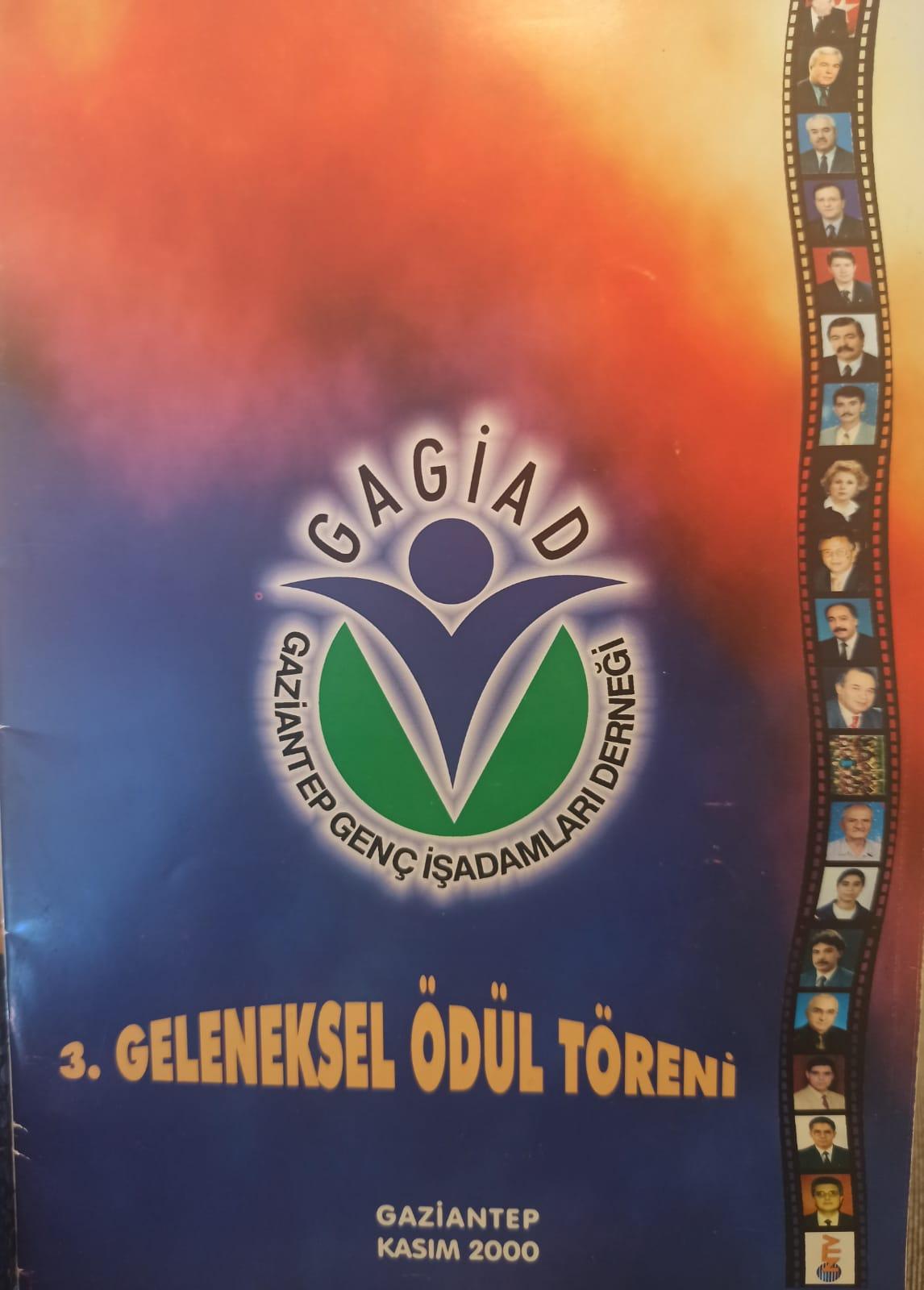 GAGİAD III.GELENEKSEL ÖDÜL TÖRENİ