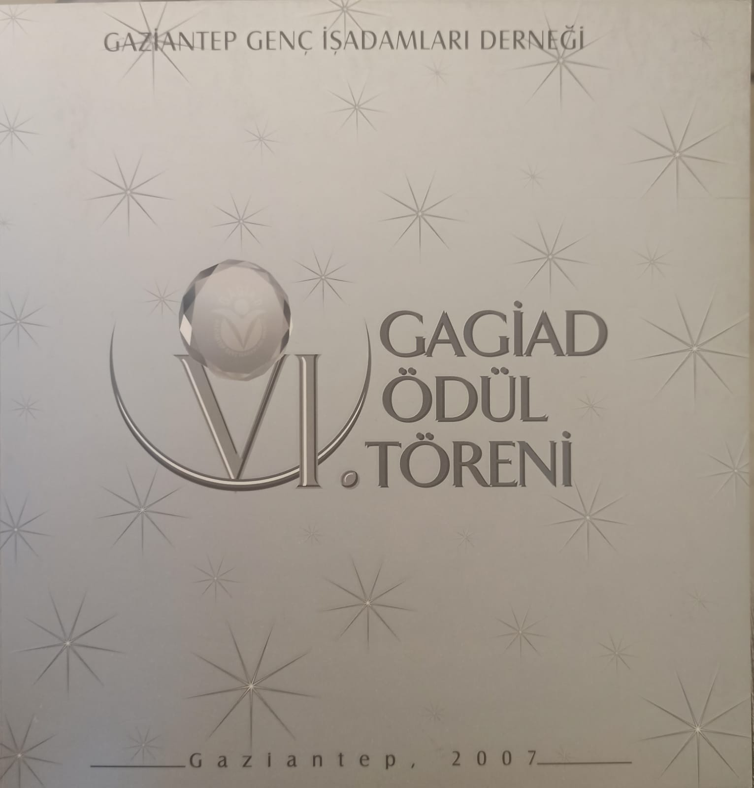 GAGİAD VI.ÖDÜL TÖRENİ