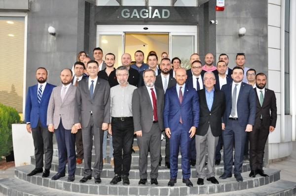 GAGİAD'DA EKONOMİK GÜNDEM DEĞERLENDİRME TOPLANTISI DÜZENLENDİ.