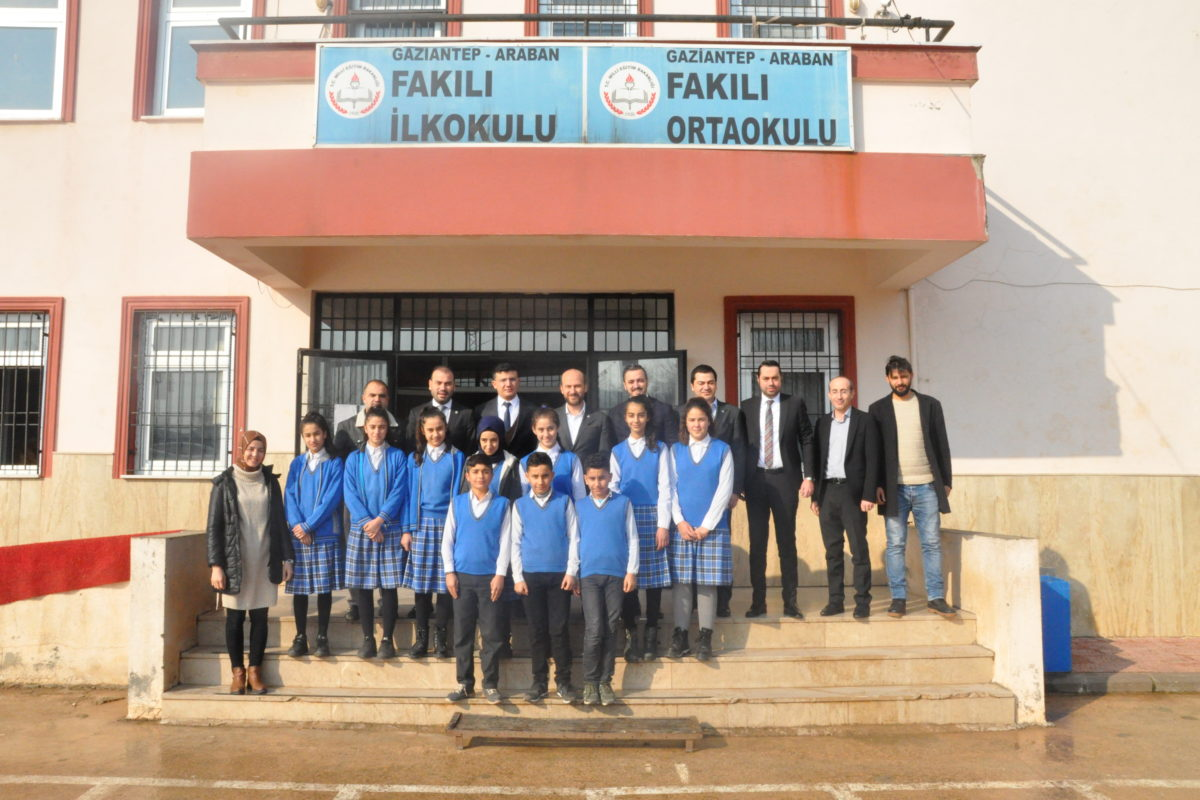 GAGİAD'DAN FAKILI ORTAOKULU'NA LABORATUVAR DESTEĞİ