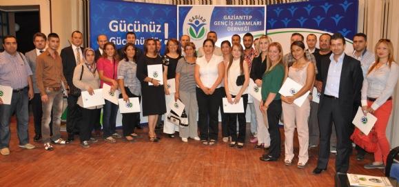 GAGİAD'DAN GİRİŞİMCİLERE SERTİFİKA