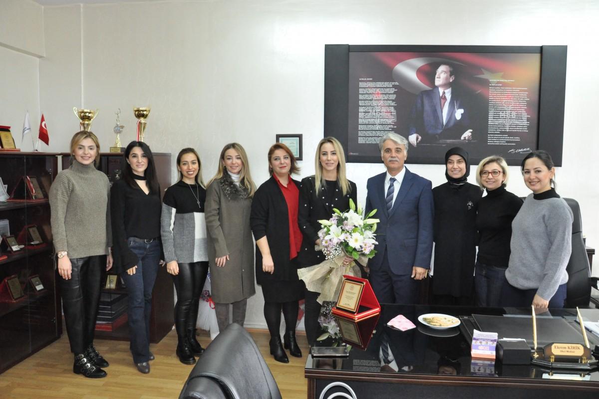 GAGİAD'DAN VEHBİ DİNÇERLER FEN LİSESİNE BAĞIŞ