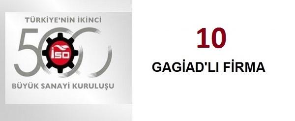 ISO 500'DE FİRMALARIMIZI TEBRİK EDERİZ