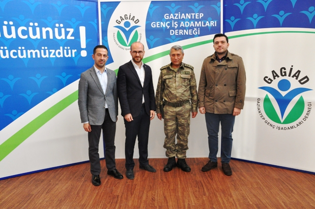 KIDEMLİ ALBAY HALİL UYSAL'DAN GAGİAD'A ZİYARET